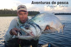 Aventuras de pesca con Miguel Sanz