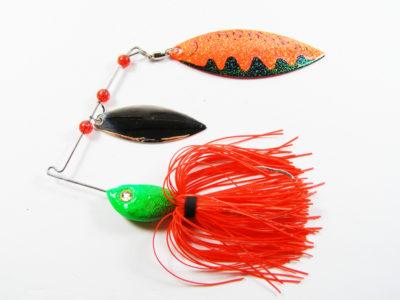 Pesca lucio spinnerbait