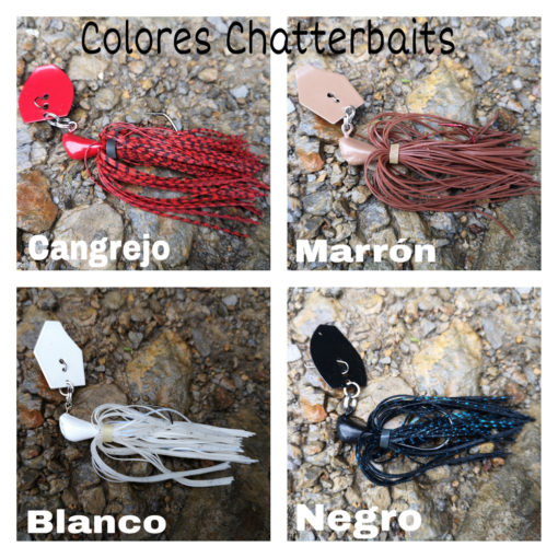 colores chatterbait chinesteta