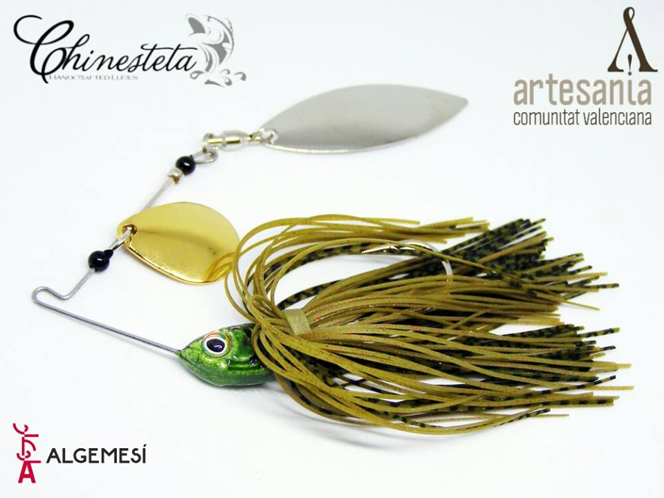 Pesca black bass spinnerbait