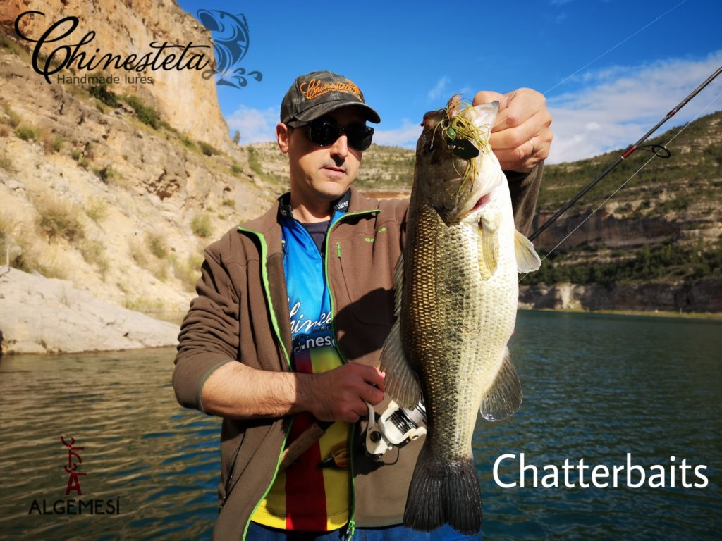 pesca bass chatterbait