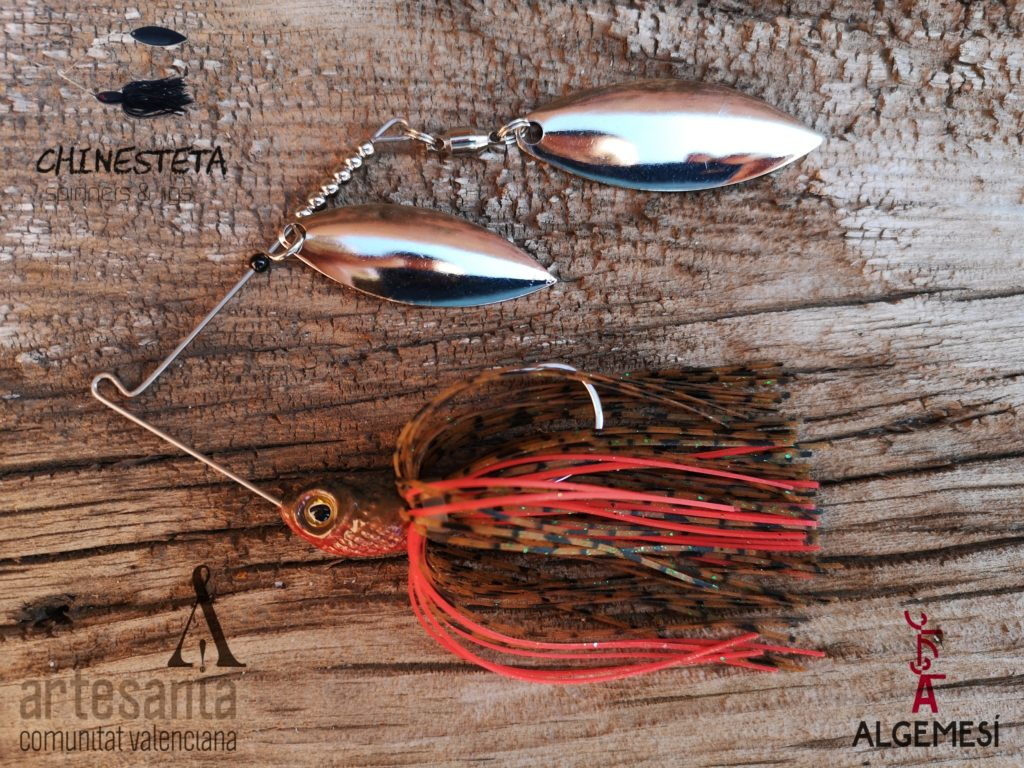 Pesca bass con spinnerbait