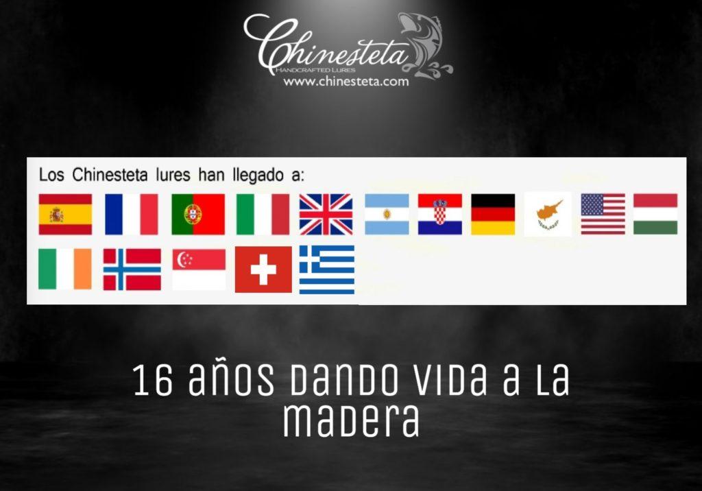 chinestetas por el mundo